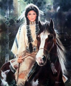 Maija Painted Pony Native American Art, Western Art, and Wildlife Art. Fine art prints and posters framed, custom framing Native American Girls, Native American Pictures, Native American Wisdom, Native American Beauty, American Indian Art, Native American History, American Indians, Native American Paintings, Indian Paintings