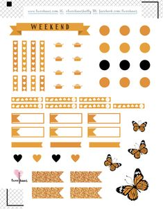 Hourly ECLP Planner Stickers