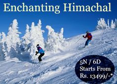 Enchanting #Himachal #TourPackage: 5N/6D starts from Rs. 13499/-*