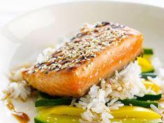 Découvrez la recette Saumon grillé sur cuisineactuelle.fr.