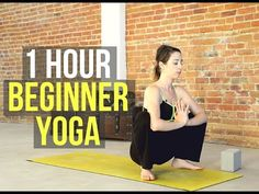 1 Hour Beginner Yoga Flow - All Levels Yoga for Strength & Flexibility - YouTube