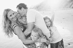 Un-boring family 'pose'