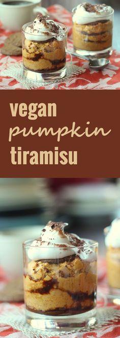 Vegan Pumpkin Gingersnap Tiramisu - Connoisseurus Veg
