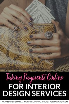 While we live in an amazing time where we can work anywhere in the world and get paid, sometimes taking payments online for interior design services can be hard.