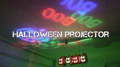 I modify a spinning Christmas LED bulb to project some halloween shapes onto the walls and ceilings. I previously showed how I modified this bulb to remove t. Halloween Light Show, Diy Halloween, Halloween Projector, Bulb, Neon Signs, Halloween Crafts, Onions, Light Bulb, Halloween Diy