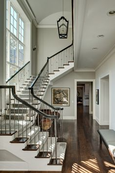 A Modern Manor - traditional - staircase - chicago - Fraerman Associates Architecture