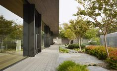 inarc architects / links courtyard house, georges road mornington peninsula
