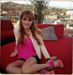 Bella Thorne at the W Hollywood California #fashion #style #looks #celebrity