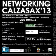 "Networking ""CALZASAX'13"""