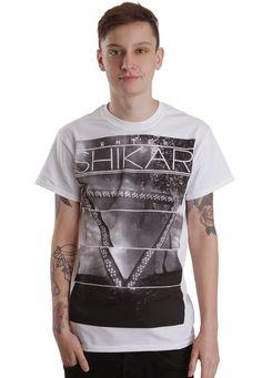 Enter Shikari - Grey Album White - T-Shirt - Official Dubcore Merchandise Online Shop - Impericon.com Worldwide