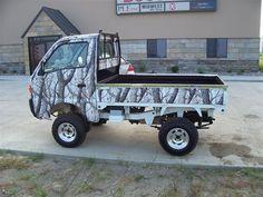 John Deere green dump truck better than a gator Mini 4x4, Mini Jeep, Mini Bike, Small Truck Camper, Small Trucks, Mini Trucks, Old Pickup Trucks, 4x4 Trucks, Diesel Trucks