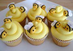 Buzzing Bumble Bee Cupcakes - GoodCupcakes.com