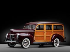 1940 Ford Deluxe Station Wagon. Maintenance/restoration of old/vintage vehicles: the material for new cogs/casters/gears/pads could be cast polyamide which I (Cast polyamide) can produce. My contact: tatjana.alic@windowslive.com
