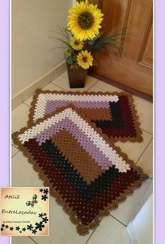 Spiral Crochet, Manta Crochet, Crochet Granny, Free Crochet, Knit Crochet, Crochet Table Mat, Crochet Placemats, Crochet Doilies, Button Hole Stitch