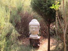 Buddha head at Castanheira de Pera, Bolo