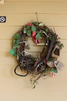 Equestrian Wreath  Lawton Stables on Hilton Head Island.