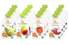 News Happy Baby Organic Baby Food Stage 1 Starting Solids Variety Pack of 16   buy now     $24.04 Happy Baby Organic Baby Food Stage 1 Starting Solids Variety Pack of 16. Contains 4 (3.5 Oz) Pouches of Each Flavor. Flavors I... http://showbizlikes.com/happy-baby-organic-baby-food-stage-1-starting-solids-variety-pack-of-16/