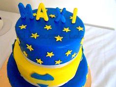 tortas decoradas de boca juniors - Buscar con Google