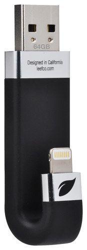 Leef - iBridge 64GB USB Type A Flash Drive - Black