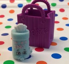 NEW Season 2 Shopkins #2-132 Blue Baby Swipes Shopkin Fluffy Babies Wipes #Shopkins