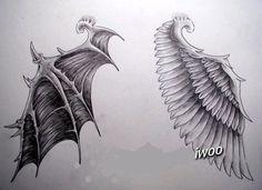 악마 날개에 대한 이미지 검색결과