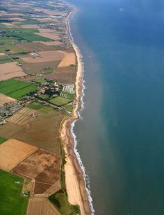 Happisburgh, on the north Norfolk coast, has a remarkable concentration of early Stone Age sites, all of which have been discovered since 2000. These sites are buried under thick glacial sediments and are only exposed as a result of coastal erosion.