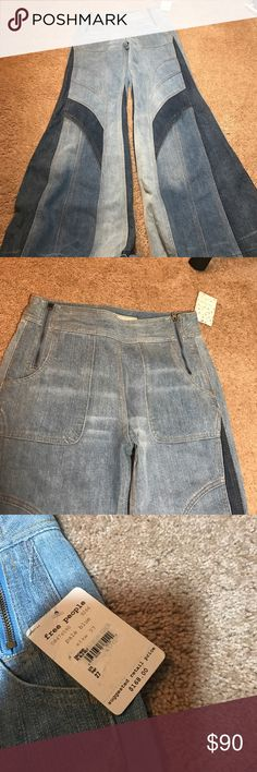 Free People bell bottom jeans NWT Free People Jeans Flare & Wide Leg