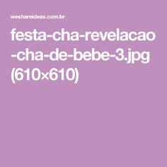 festa-cha-revelacao-cha-de-bebe-3.jpg (610×610)