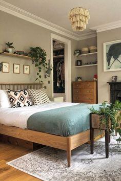 Home Decor Bedroom, Diy Bedroom, Modern Bedroom, Bedroom Ideas, Master Bedroom, Design Bedroom, Bedroom Wall, Bedroom Wooden Floor, Bedroom Furniture