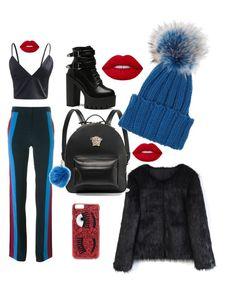 Başlıksız #2 by goncaydogdu on Polyvore featuring polyvore, fashion, style, Chicwish, STELLA McCARTNEY, Versace, Inverni, Chiara Ferragni, Furla, Lime Crime and clothing