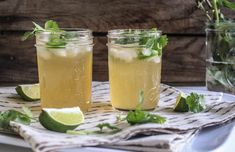 Spicy Jalapeño Margaritas. Perfect cocktail to warm up with on a chilly evening!