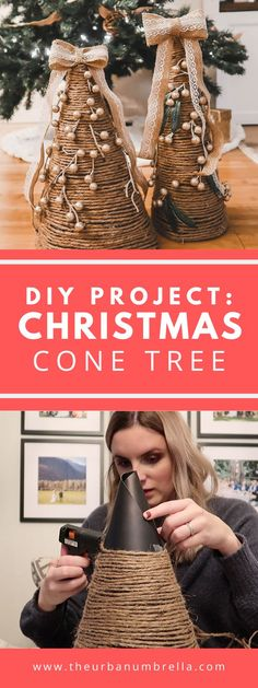 Love festive decor but hate the cost? Today, I am sharing an easy and affordable Christmas Tree Cone DIY project so you can enjoy festive decor without breaking the bank!