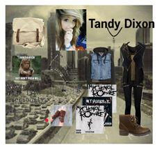 """Tandy Dixon"" by cutiekrystyn ❤ liked on Polyvore"