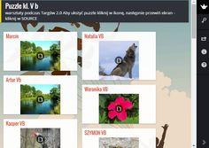 Wczoraj w ramach Targów2.0 odbywały się warsztaty dla uczniów. Nasza klasa uczyła się robić puzzle w aplikacji jigsawplanet. Prace miały tematykę przyrodniczą ,w większości były to  zwierzęta, krajobrazy i kwiatki. Uczniom robienie puzzli się podobało, ponieważ było ciekawie i było dużo nowych rzeczy. Mi też się bardzo podobało bo nauczyłam się nowych rzeczy. A oto puzzle, które zrobiła nasza klasa.