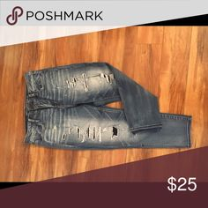 American Eagle jeans Hi-rise jegging crops American Eagle Outfitters Jeans Skinny