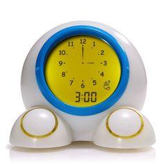 Amazon.com - American Innovative Teach Me Time! Talking Alarm Clock and Nightlight - Electronic Alarm Clocks