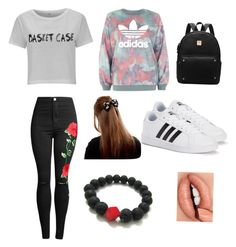"""Cool #ana"" by sarah14san on Polyvore featuring moda y adidas"