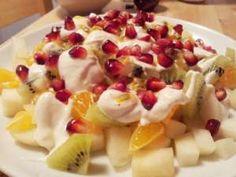 cream fruit chaat recipe, creamy fruit chaat recipe, fresh cream fruit chaat recipe, quick cream fruit chaat recipe, Homemade cream fruit chaat recipe