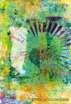 Help Me Ronda - if you haven't noticed, i have a love for monoprints using my Gelli Arts Gel Plate. I wouldn't tell you about a product unless i have a love for it.