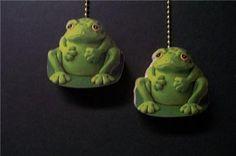 2 Frogs Ceiling Fan Pull Pulls | eBay