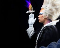 Luke Steele (Empire of The Sun, Sleepy Jackson). Im obsessed with the way he looks and i have NO idea why