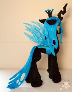New Chrysalis wings! by JanellesPlushies.deviantart.com on @DeviantArt