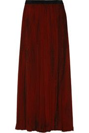ENZA COSTACrinkled-chiffon maxi skirt