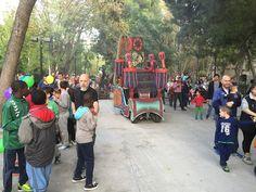 """Actuación en la Clausura del Parque Infantil """"Colores de Otoño"""" , en las Fiestas del Pilar 2015 - Octubre Zaragoza"""