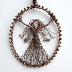 Image result for belly dancer wire craft pendant