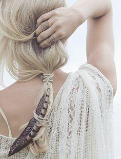 Estilo Boho: Acessórios para cabelo
