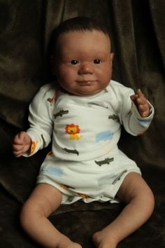 Full Moon Babies welcomes Nolan reborn baby boy Ready for Christmas low price!!
