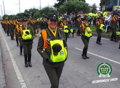 Folk Music, Firefighters, National Police, Female Cop, Military Women, Armed Forces, Military Uniforms, Soldiers, Colombia