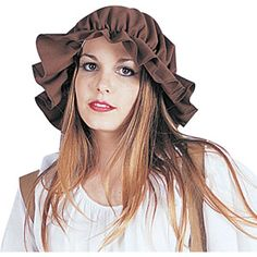Women's Brown Colonial Mop Cap ,Multi Color ,One Size Best Halloween Costumes & Dresses USA Halloween Costumes For Teens, Halloween Fancy Dress, Funny Halloween Costumes, Girl Costumes, Adult Costumes, Halloween Ideas, Irish Costumes, Viking Costume, College Hoodies
