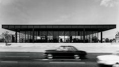The Gallery in 1968 / Mies van der Rohe © Archiv Neue Nationalgalerie, Nationalgalerie, Staatliche Museen zu Berlin